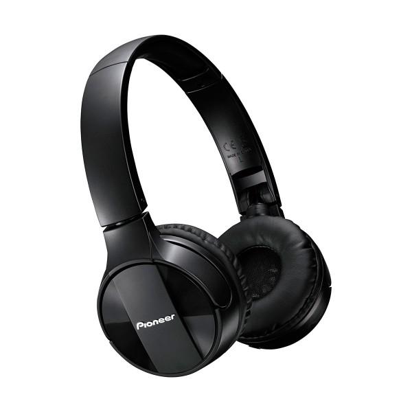 Pioneer se-mj553bt negro auriculares inalámbricos bluetooth micrófono integrado alta calidad diseño plegable