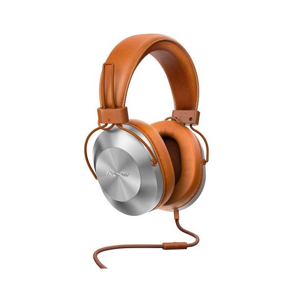 Pioneer se-ms5t marrón auriculares audio de alta calidad con micrófono powerbass diseño en aluminio