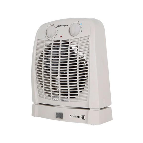 Orbegozo fh 7001 blanco calefactor oscilante 2000w con función ventilador