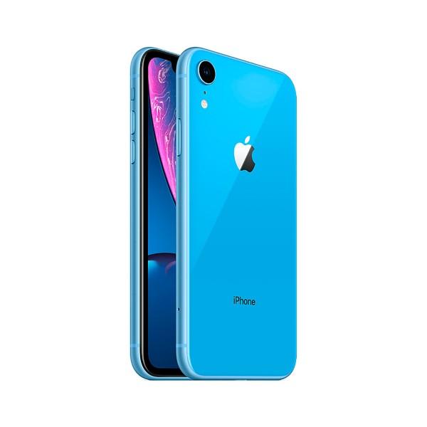 Apple iphone xr 64gb azul móvil 4g 6.1'' liquid retina hd led hdr/6core/64gb/3gb ram/12mp/7mp