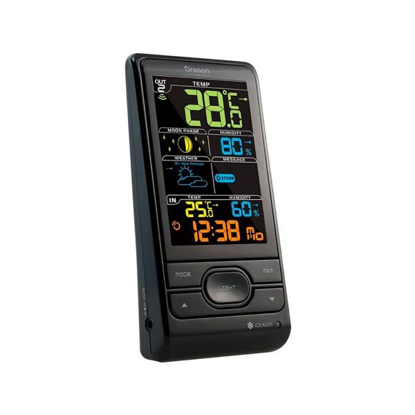 Oregon bar-208sx negro estación meteorológica multifunción con sensor remoto
