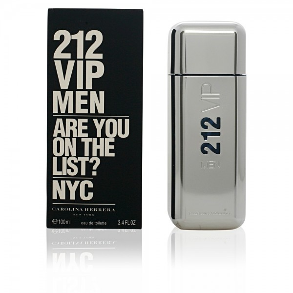 Carolina herrera 212 vip men eau de toilette 100ml vaporizador