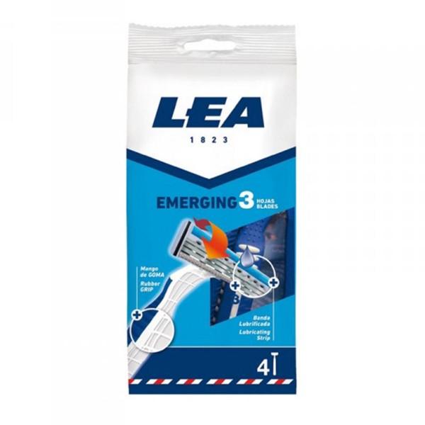 Lea emerging cuchillas desechables 3 hojas