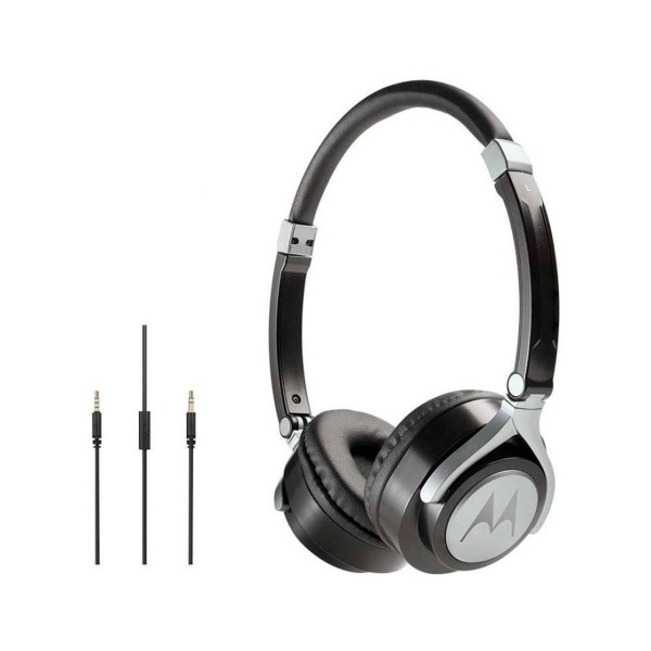 Motorola pulse 2 negro auriculares de diadema estéreos con cable