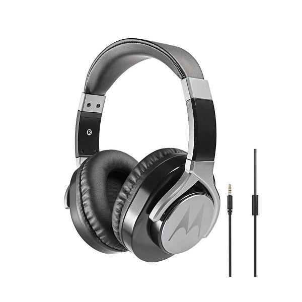Motorola pulse max negro auriculares de diadema estéreos con cable