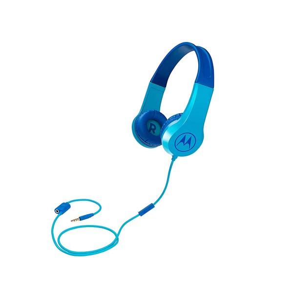 Motorola squads 200 azul auriculares de diadema para niños