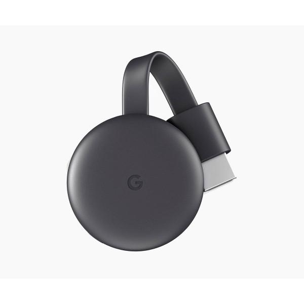 Google chromecast 3 dispositivo reproductor multimedia hdmi wifi full hd