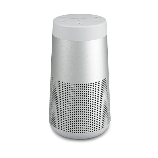Bose soundlink revolve gris altavoz inalámbrico bluetooth sonido de alta calidad envolvente 360º