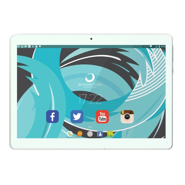 Brigmton btpc1023 blanco tablet 4g dual sim 10'' ips hd/8core/32gb/2gb ram/5mp