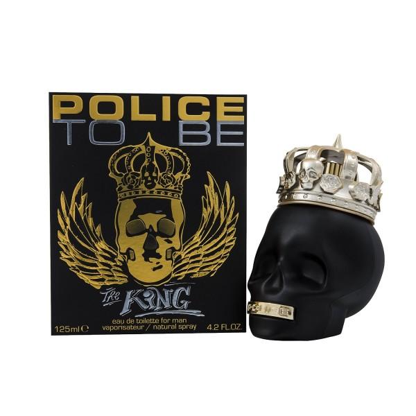 Police to be the king eau de toilette 125ml vaporizador