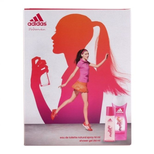 ADIDAS FOR HER EDT  50 ml + Shower Gel 250 ml