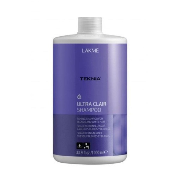 Lakme teknia ultra clair champu cabello rubio 1000ml
