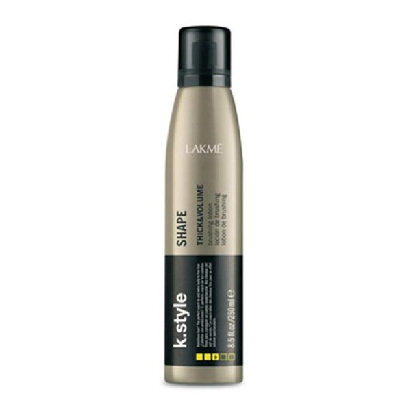 Lakme k.style shape thick&volume locion cabello fino 250ml