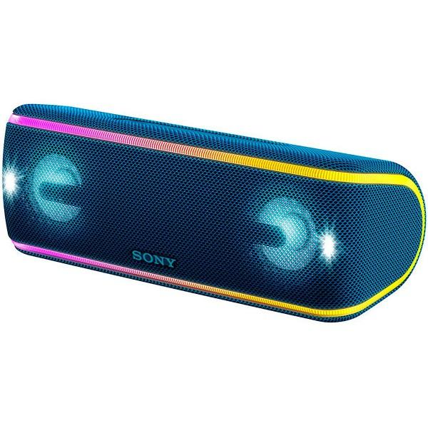 Sony srs-xb41 azul altavoz inalámbrico nfc bluetooth sonido extra bass live resistencia ip67