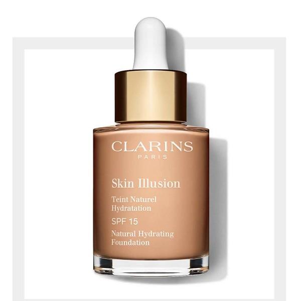 Clarins skin illusion base spf15 108 sand 30ml