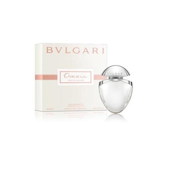 Bvlgari omnia crystalline eau de toilette 25ml vaporizador
