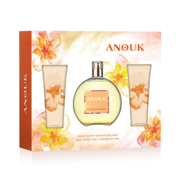 ANOUK Set Colonia 100 v + Body Lotion 75 ml + Shower Gel  75 ml