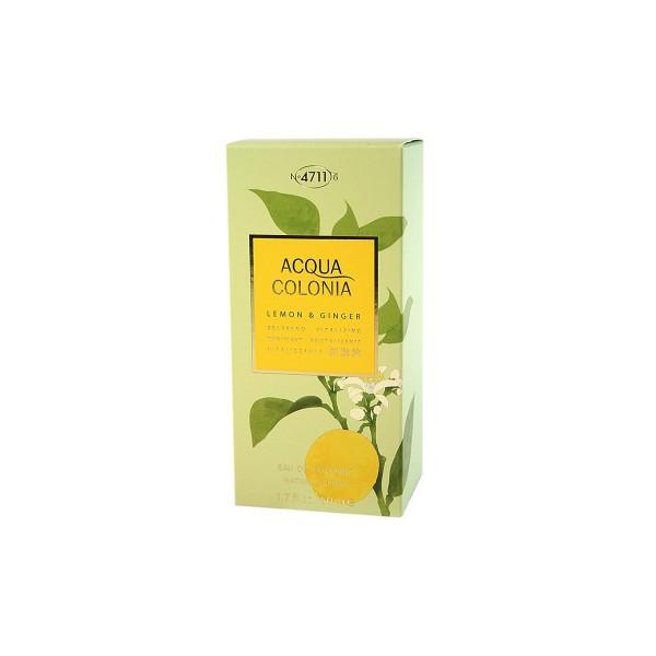 4711 acqua colonia eau de cologne lemon & ginger 50ml vaporizador