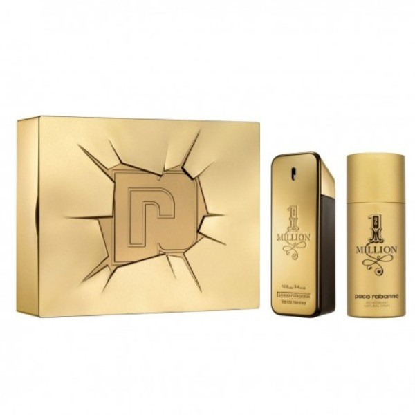 Paco Rabanne  ONE MILLION EdT  100 ml + Desodorante Spray  150 ml