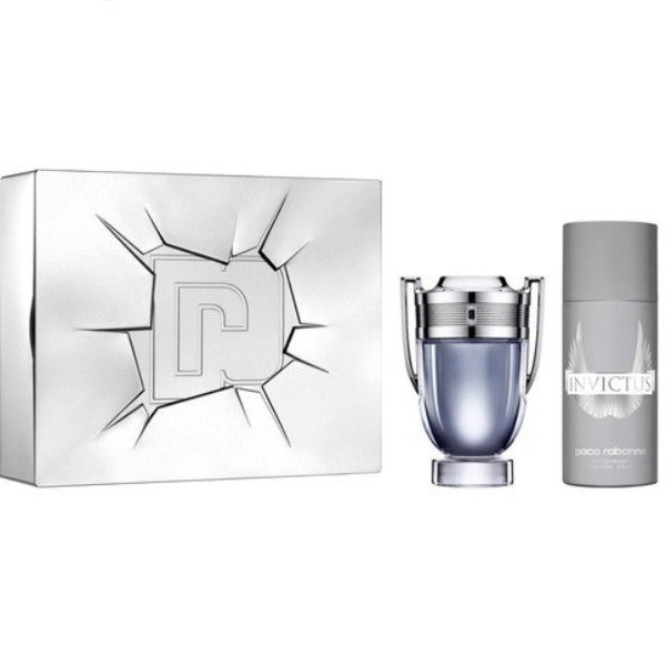 Paco Rabanne  INVICTUS  EdT  100 ml + Desodorante Spray  150 ml