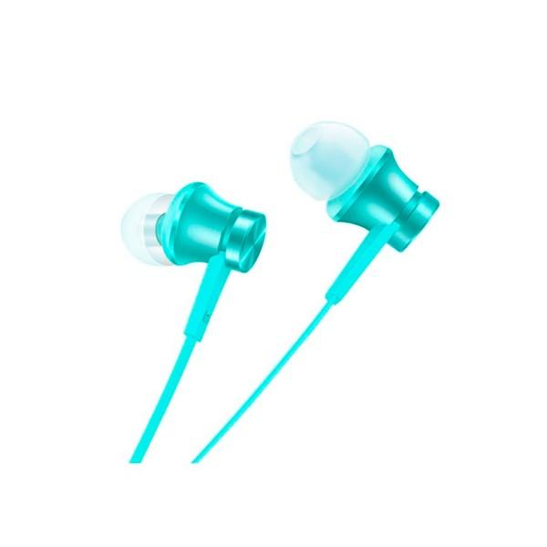 Xiaomi mi in-ear headphones basic azul auriculares de alta calidad con cable plano anit-enredos