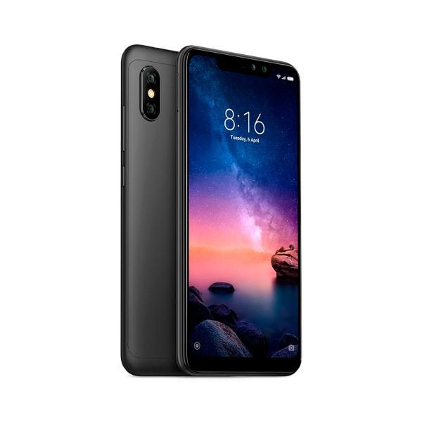 Xiaomi redmi note 6 pro negro móvil 4g dual sim 6.26'' ips fhd+/8core/64gb/4gb ram/12mp+5mp/20mp+2mp