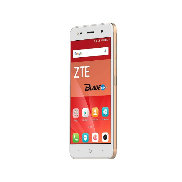 Zte v8 mini dorado móvil dual sim 4g 5'' ips hd/8core/16gb/2gb ram/13mp+2mp/5mp