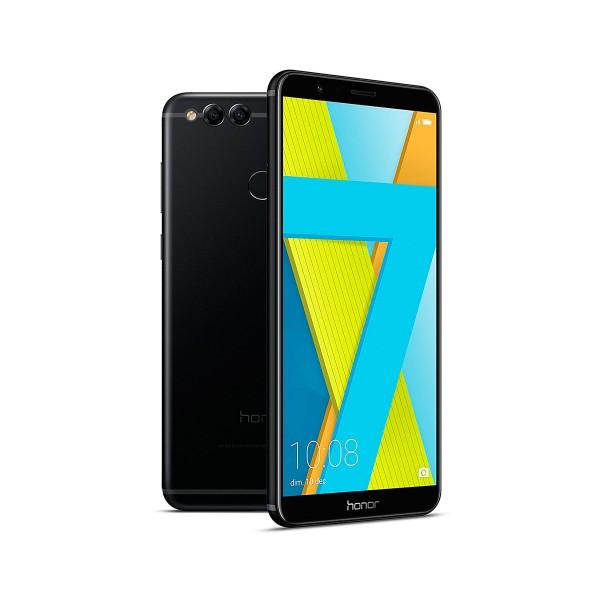 Honor 7x negro móvil 4g dual sim 5.93'' ips fhd+/8core/64gb/4gb ram/16mp+2mp/8mp