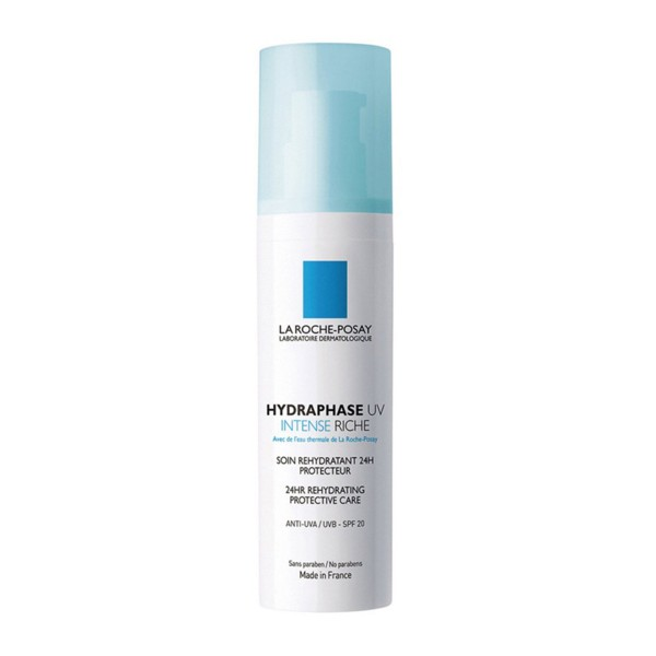 La roche posay hydraphase uv intense riche rehydrating protective car spf20 50ml