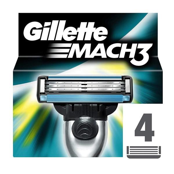 Gillette mach3 recarga maquinilla pack 4un