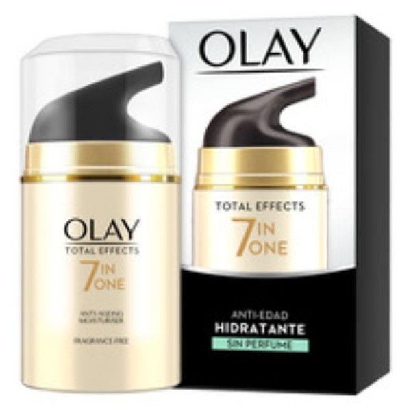 OLAY TOTAL EFFECTS 7 in One Anti-edad Sin Perfume 50 ml