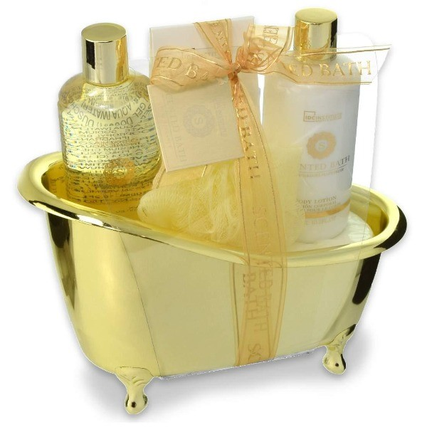 IDC SET BAÑO BATH GOLD 4 PZ 88010