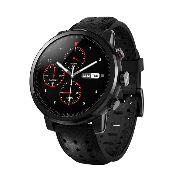 Xiaomi amazfit stratos + smartwatch multideporte 1.34'' wifi gps bluetooth pulsómetro notificaciones inteligentes