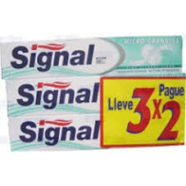 Signal  Dentrífico  Micro-Granules 75 ml   Oferta  3x2