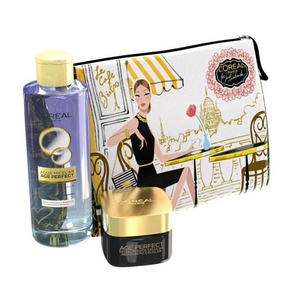 L´OREAL EXPERTISE NECESER  SET Crema Revitalizante  50 ml + Agua Micelar 400 ml