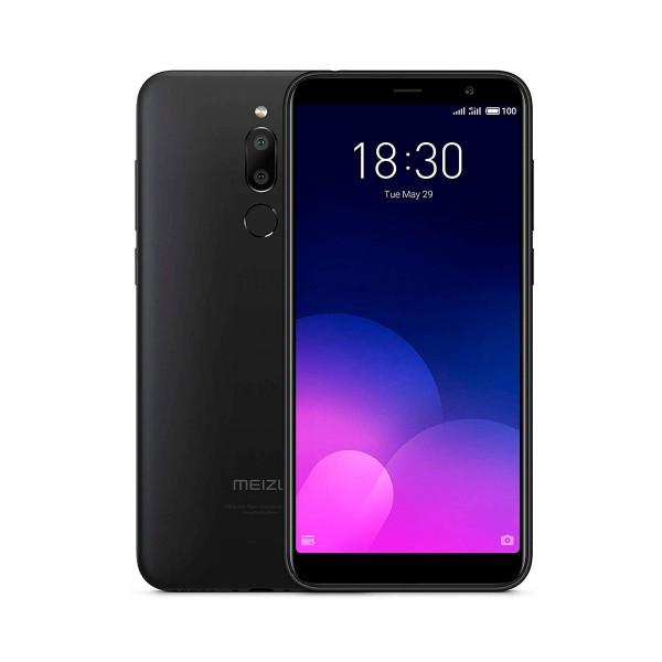 Meizu m6t negro móvil 4g dual sim 5.7'' ips hd+/8core/32gb/3gb ram/13mp+2mp/8mp