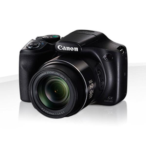 Canon powershot sx540 hs negra cámara de fotos digital compacta 20mp