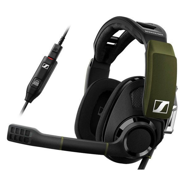 Sennheiser gsp 550 auricular negro 7.1 con microfono gaming con conexión usb