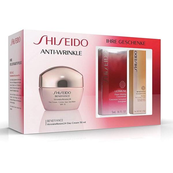 Shiseido benefiance wrinkle resist 24h crema 50ml + ultimate concealer 5ml + crema de ojos 5ml