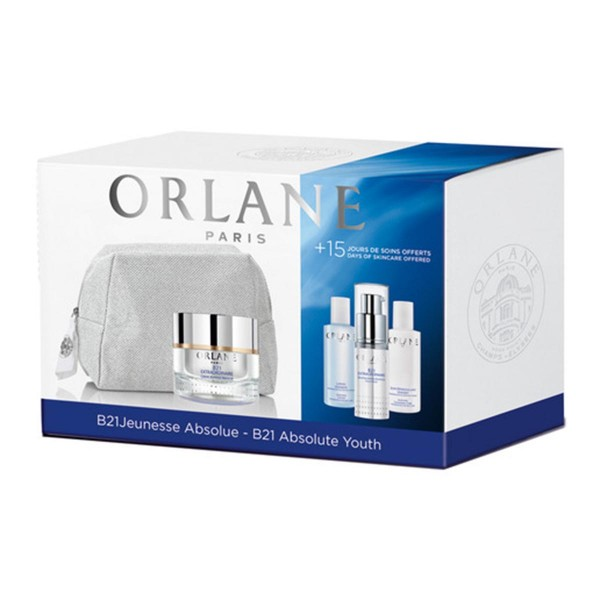 Orlane b21 extraoirdinaire absolue crema 50ml + b21 tratamiento 15ml + vivifying lotion 50ml + vivifying cleansing care 50ml + neceser 1u