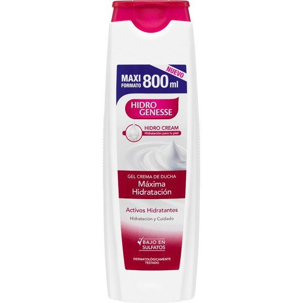 HIDROGENSSE GEL DE DUCHA 800 ml