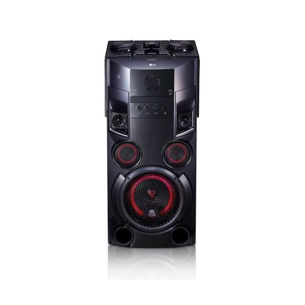 Lg om5560 torre de altavoces 500w con bluetooth, reproductor cd y usb