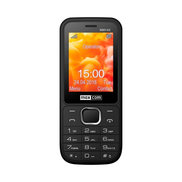 Maxcom mm142 negro móvil 2.4'' bluetooth y dual sim