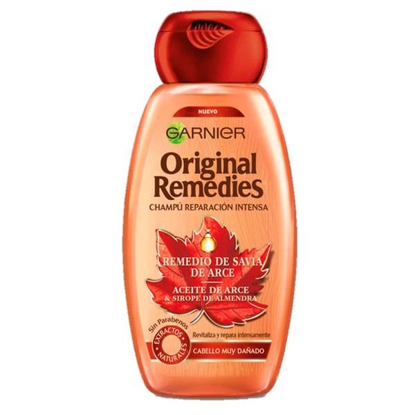 Garnier ORIGINAL REMEDIES Champú Remedio de Arce 300 ml