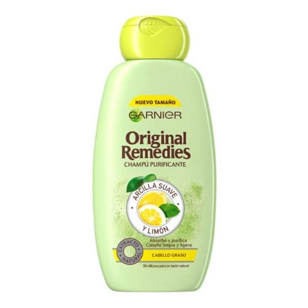 Garnier ORIGINAL REMEDIES Champú Arcilla Suave y Limón  250 ml