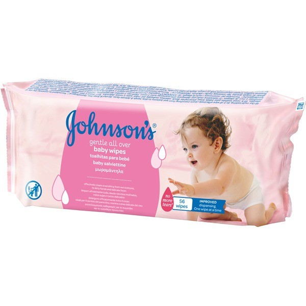 JOHNSONS TOALLITAS  Gentle all  56 u