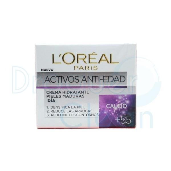 L´Oreal Active Antiarrugas + 55   Crema Día 50 ml
