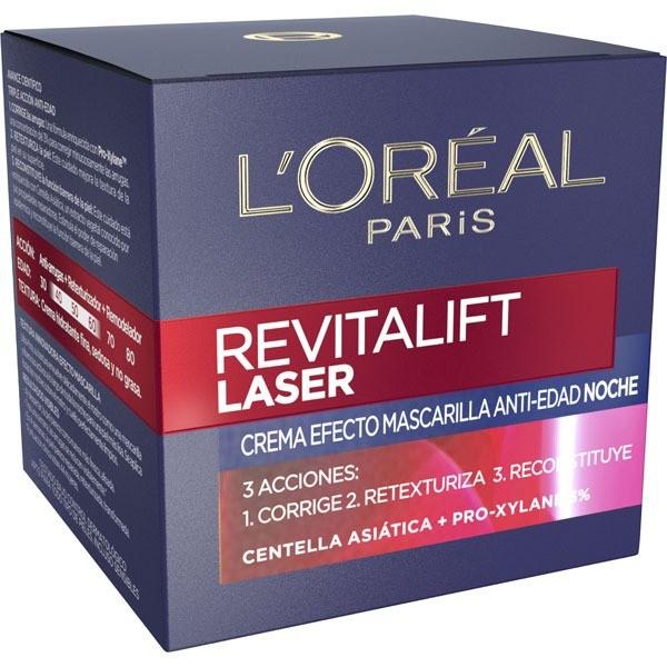 L´Oreal Revitalift Laser x 3  crema noche  50 ml