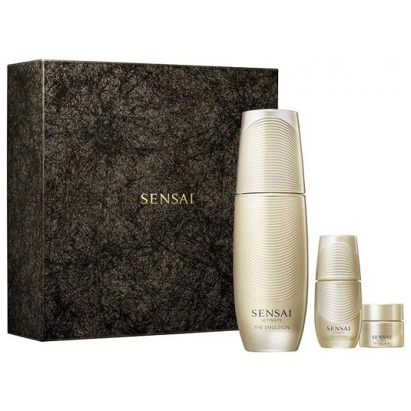 Kanebo ultimate emulsion 100ml + locion corporal 16ml + crema de ojos 4ml