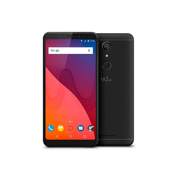 Wiko view negro móvil 4g dual sim 5.7'' ips hd+/4core/32gb/3gb ram/13mp/16mp